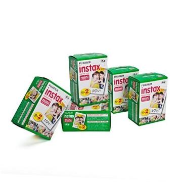 5x Fujifilm Instax Mini Film (2-er Pack) - 1
