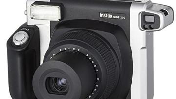Bundle Fuji Instax 300 Wide Instant Camera +30-Shot Wide Film +Fujiilm Carry Case+ 4 AA Panasonic Gold Batteries - 6