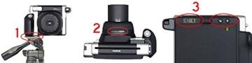 Bundle Fuji Instax 300 Wide Instant Camera +30-Shot Wide Film +Fujiilm Carry Case+ 4 AA Panasonic Gold Batteries - 7
