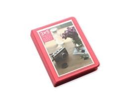 Fotoalbum für Fujifilm Instax WIDE 210/200/300 Films Fotohüllen Kunststoff Fotobuch Photoalbum Fotoalben mit 32 Taschen - Rosa - 1