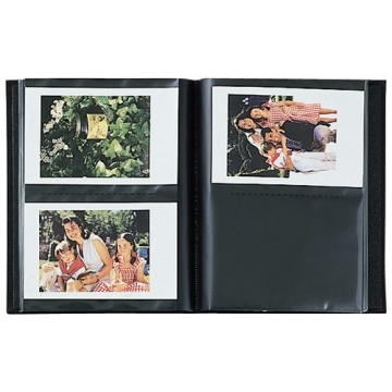 Fuji Instax Hard Cover Photo Album for Fuji Instax Mini 7s /50s/ Polaroid Mio /300 Lomo Diana Back Cameras - 3