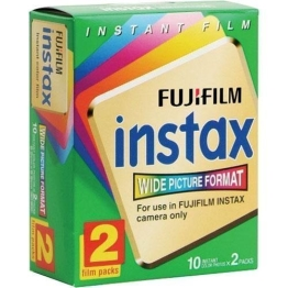 Fuji Wide Instant Color Film Instax for 200/210 Cameras - 2 Twin Packs - 40 Prints Portable Consumer Electronic Gadget Shop - 1