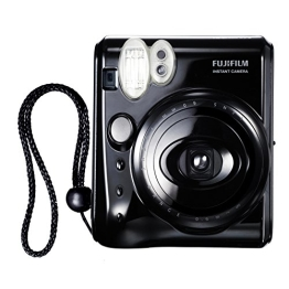 Fujifilm 16102240 Instax Mini 50S CN EX Sofortbildkamera (62 x 46mm) Piano Black - 1