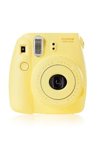 Fujifilm 16273180 Instax Mini 8 Sofortbildkamera (62 x 46mm) gelb - 2