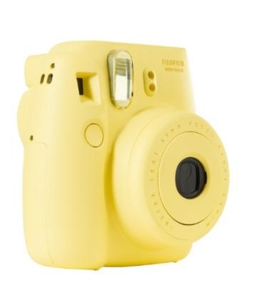 Fujifilm 16273180 Instax Mini 8 Sofortbildkamera (62 x 46mm) gelb - 5