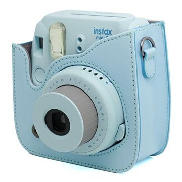 Fujifilm Instax Mini 8 Kamera Zubehör Sets (Included: Instax Mini 8 Kameratasche Gehäuse Taschen/Nahlinse Mit Spiegel/Dekorative Aufkleber Für Filme/Dekorative Fotorahmen) - 3