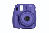 Fujifilm Instax Mini 8 Sofortbildkamera inkl. Batterie/Trageschlaufe lila - 1