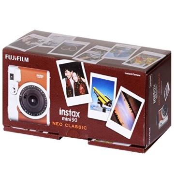 Fujifilm Instax MINI 90 Neo Classic Braun - 2