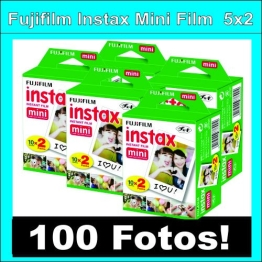 Fujifilm Instax Mini Film - 5x20 films - 100 fotos - 1