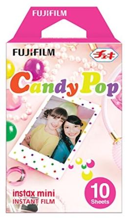 Fujifilm Instax Mini Film, Candy Pop, 10Stück - 1