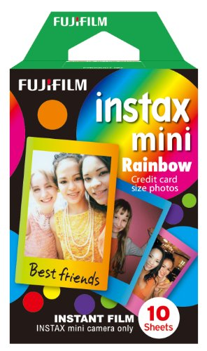 Fujifilm Instax Mini Rainbow Film, 10er Pack - 1