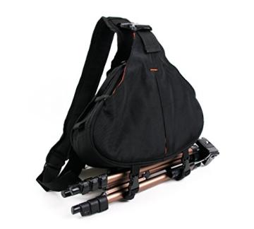 Innengepolsterte Premium-Tasche Rucksack für Fujifilm Instax WIDE 300 / Instax mini HELLO KITTY und Kamera-Zubehör - mit Regenschutz - 3