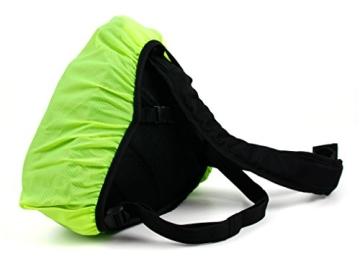 Innengepolsterte Premium-Tasche Rucksack für Fujifilm Instax WIDE 300 / Instax mini HELLO KITTY und Kamera-Zubehör - mit Regenschutz - 6