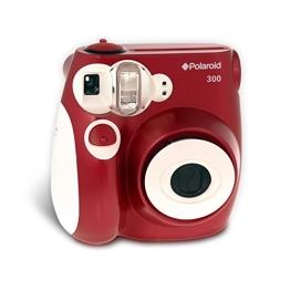 Polaroid 300 Sofortbildkamera (Blitz, Automatik für 4 Szenen, ohne Film) rot - 1