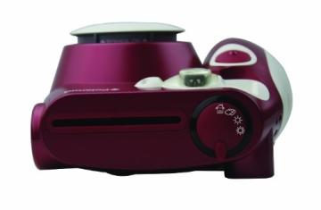 Polaroid 300 Sofortbildkamera (Blitz, Automatik für 4 Szenen, ohne Film) rot - 7
