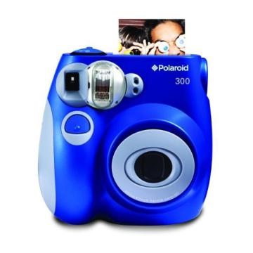Polaroid 300 Sofortbildkamera mit Auto-Blitz blau - 1