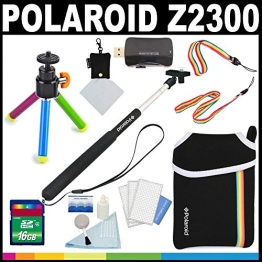 Polaroid Luxus BASIS SET für die Polaroid Z2300 Instant Print Kamera - Tolles Zusatz-Set - 1