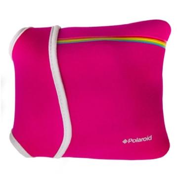 Polaroid Neopren-Tasche für Polaroid Socialmatic, PIC300 Sofortbildkamera (Rosa) - 2