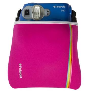 Polaroid Neopren-Tasche für Polaroid Socialmatic, PIC300 Sofortbildkamera (Rosa) - 3