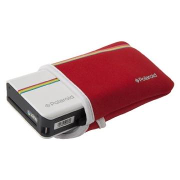 Polaroid Neopren-Tasche für Polaroid Z2300 Sofortbildkamera (Rot) - 4
