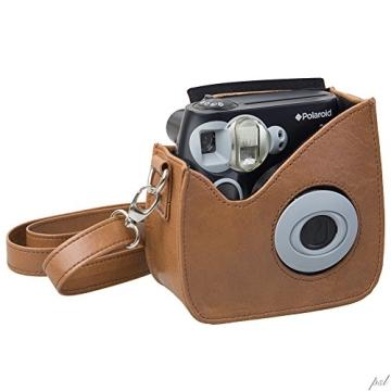 Polaroid Snap & Clip Kameratasche für Polaroid PIC-300 Sofortbildkamera (braun) - 1