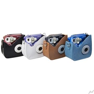 Polaroid Snap & Clip Kameratasche für Polaroid PIC-300 Sofortbildkamera (braun) - 4