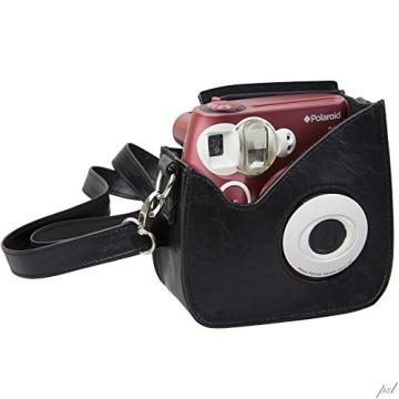Polaroid Snap & Clip Kameratasche für Polaroid PIC-300 Sofortbildkamera (schwarz) - 1