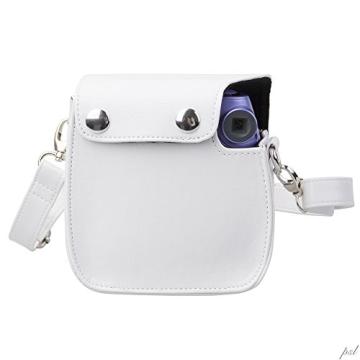 Polaroid Snap & Clip Kameratasche für Polaroid PIC-300 Sofortbildkamera (weiß) - 3