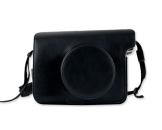 Retro PU Leder Kameratasche Ledertasche Schutztasche Schutzhülle Kamerahülle Gehäuse Taschen mit Schultergurt für Fujifilm Instax WIDE 300 Kamera - Schwarz - 1
