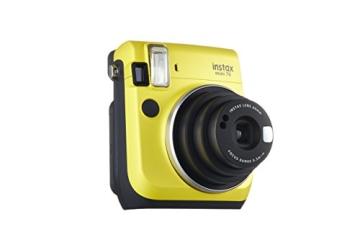 Fujifilm Instax Mini 70 gelb - 12