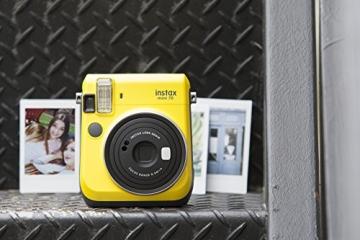 Fujifilm Instax Mini 70 gelb - 6