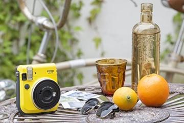 Fujifilm Instax Mini 70 gelb - 7