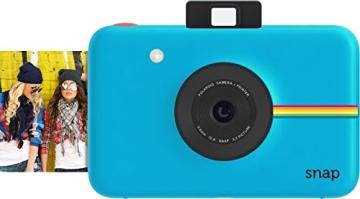 Polaroid Digitale Instant Snap Kamera BLAU mit ZINK Zero Ink Technologie - 1
