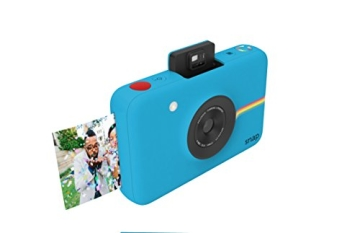 Polaroid Digitale Instant Snap Kamera BLAU mit ZINK Zero Ink Technologie - 5