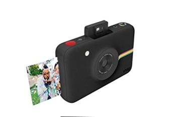 Polaroid Digitale Instant Snap Kamera (Schwarz) mit ZINK Zero Ink Technologie - 3