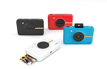 Polaroid Digitale Instant Snap Kamera (Schwarz) mit ZINK Zero Ink Technologie - 6