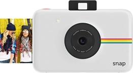 Polaroid Digitale Instant Snap Kamera (WEIß) mit ZINK Zero Ink Technologie - 1