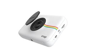 Polaroid Digitale Instant Snap Kamera (WEIß) mit ZINK Zero Ink Technologie - 3