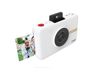 Polaroid Digitale Instant Snap Kamera (WEIß) mit ZINK Zero Ink Technologie - 4