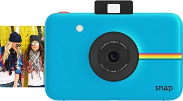 Polaroid Snap Instant Digital Camera (rot) wih ZINK Zero Ink Printing Technology - 2
