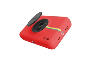 Polaroid Snap Instant Digital Camera (rot) wih ZINK Zero Ink Printing Technology - 3