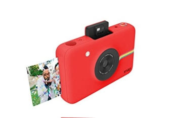 Polaroid Snap Instant Digital Camera (rot) wih ZINK Zero Ink Printing Technology - 4