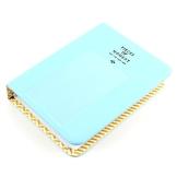 64 Taschen Mini Album Schutzhülle, für FujiFilm Instax Film für Polaroid, Größe, Blau - 1