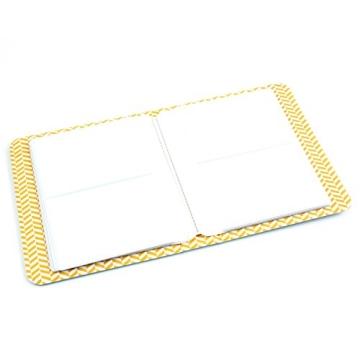 64 Taschen Mini Album Schutzhülle, für FujiFilm Instax Film für Polaroid, Größe, Blau - 2