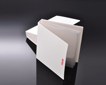 Fuji Sofortbild Mini Buch PVC Fotoalbum Album Fotohülle für Fujifilm Instax Mini 210/ 200 Filme, Polaroid 600/ PX70/ PX 680/ PX 600/ PX100, Fujifilm FP100C/ FP 3000B Filme - Fokus - 2