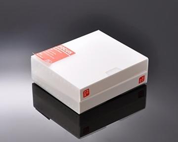 Fuji Sofortbild Mini Buch PVC Fotoalbum Album Fotohülle für Fujifilm Instax Mini 210/ 200 Filme, Polaroid 600/ PX70/ PX 680/ PX 600/ PX100, Fujifilm FP100C/ FP 3000B Filme - Fokus - 5