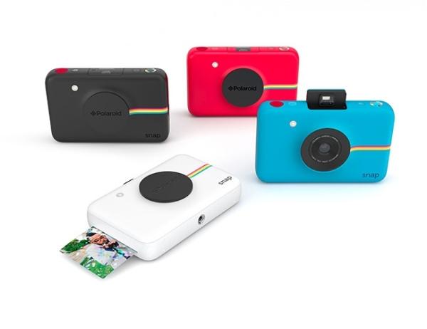 Die vier Farbvarianten der Polaroid Snap