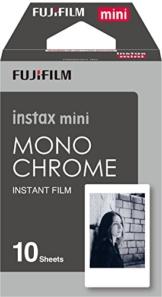Fujifilm Instax Mini Film Monochrome (10 Aufnahmen) -