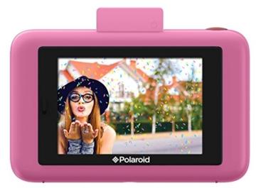 Polaroid-Schnappschuss-Sofortdruck-Digitalkamera mit LCD-Display (rosa) mit Zink Zero Ink Drucktechnologie -