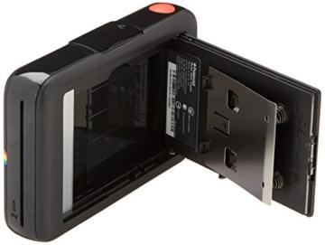 Polaroid-Schnappschuss-Sofortdruck-Digitalkamera mit LCD-Display (Schwarz) mit Zink Zero Ink Drucktechnologie -